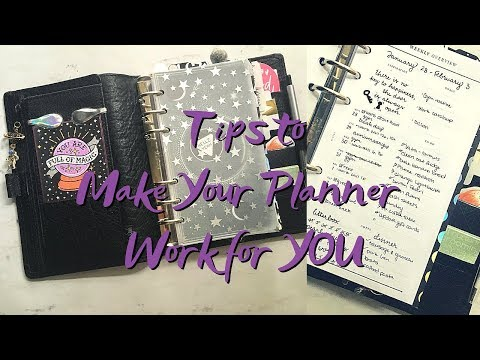Functional Planner Setup: How to Make Your Planner Work For You