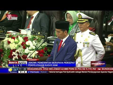 Jokowi Pidato Kenegaraan Dalam Rangka HUT RI Ke-73