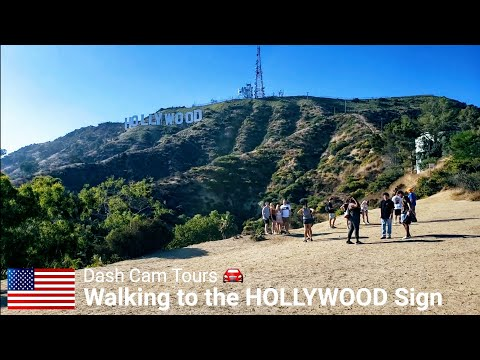 HOLLYWOOD SIGN || Dash Cam Tours 🚘 !Bad Sound In The Beginning. Please Skip To 25:00 To Start!