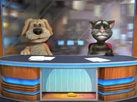 Talking Tom & Ben News (Mark & Julie )