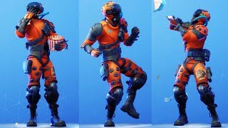 NEUE Supersonice Wolf Haut Showcase mit allen Fortnite Tänze & Emotes