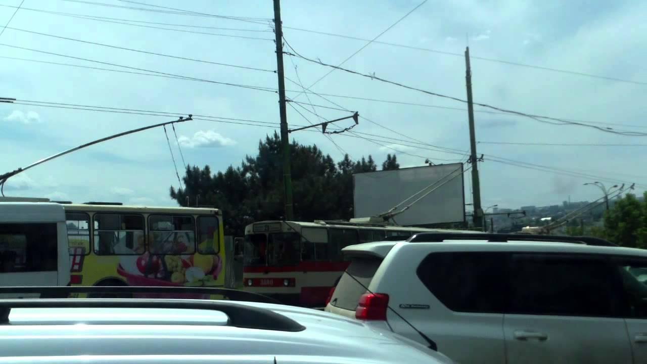Accident de circulație cu camion la poarta șantierului