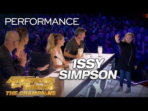 Issy Simpson: Kid SHOCKS Judges With Unbelievable Magic Trick - America's Got Talent: The Champions
