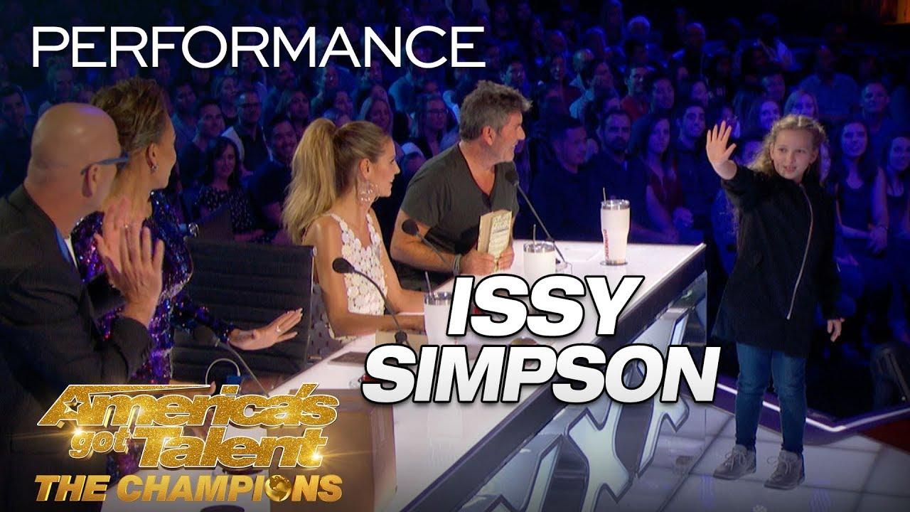 Issy Simpson: Kid SHOCKS Judges With Unbelievable Magic ...