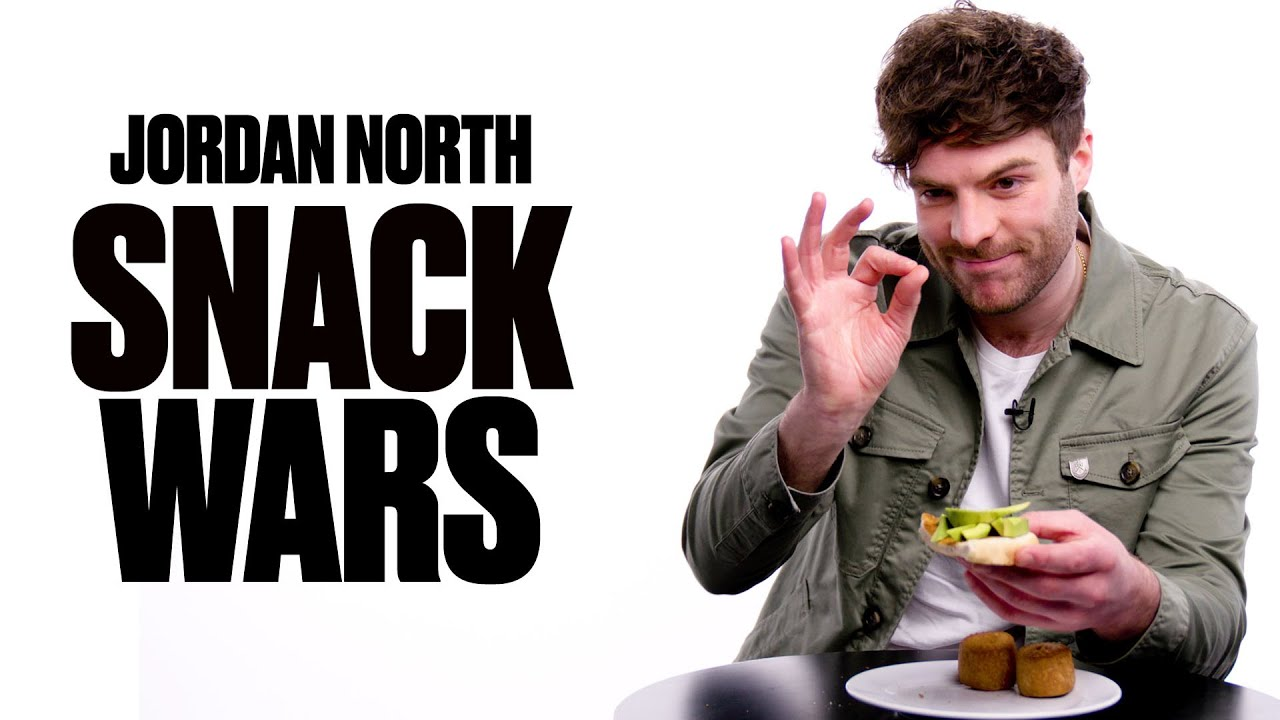 Jordan North Tries Northern and Southern Snacks I Snack Wars I LADbible