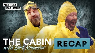 Bert Kreischer and Tom Segura Give the Cabin Recap | Netflix Is A Joke Exclusive