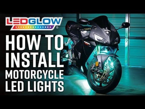LEDGlow | How To Install Motorcycle LED Lights on