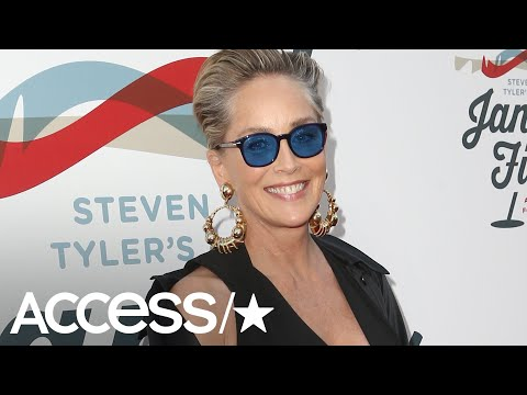 Bill George - Super at 61!  Sharon Stone Poses Topless For Vogue Magazine