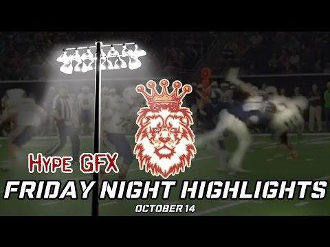 Friday Night Highlights - October 14   Ft. Deondrick Glass, Asante Samuel Jr.,  Josh Thompson