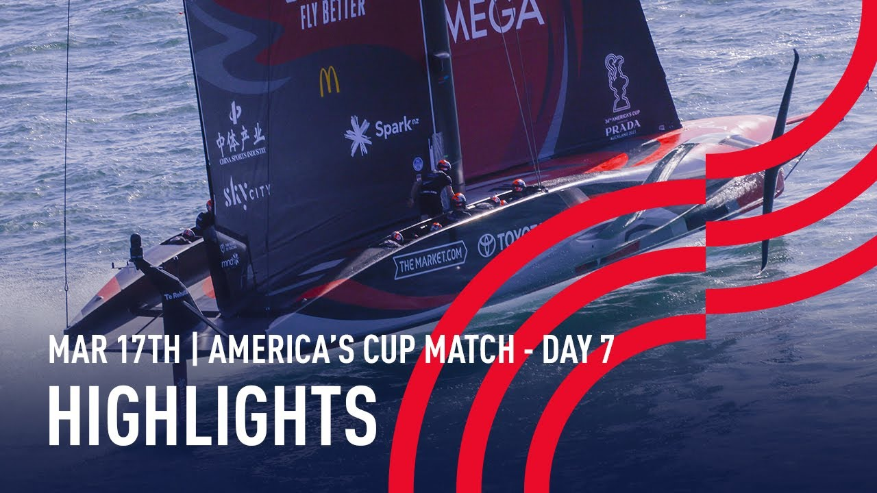 36th America's Cup Day 7 Highlights