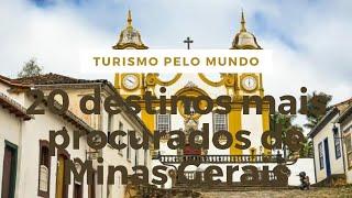20 destinos mais procurados de Minas Gerais