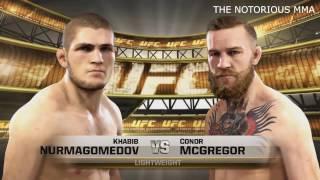 UFC КОНОР МАКГРЕГОР VS ХАБИБ НУРМАГОМЕДОВ NOTORIOUS