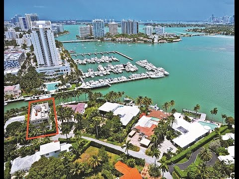Miami Beach Sunset Island Waterfront Estate For Sale