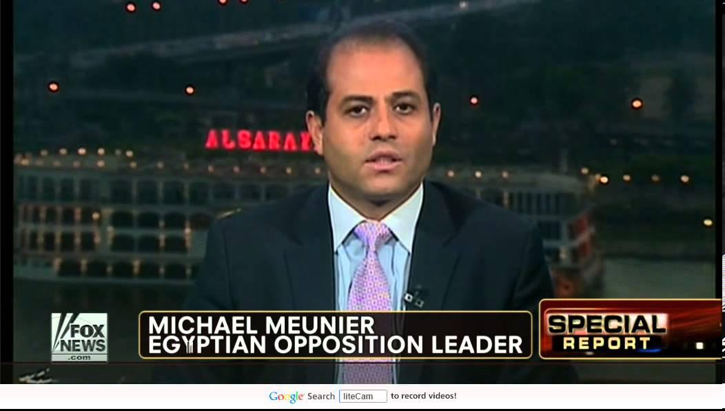 Michael Meunier Fox News Egypt Revolution