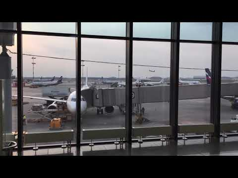 Airport Sheremetyevo Moscow, Terminal E, Departures And Take Offs