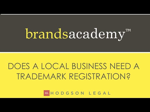 Do local businesses need a trademark?
