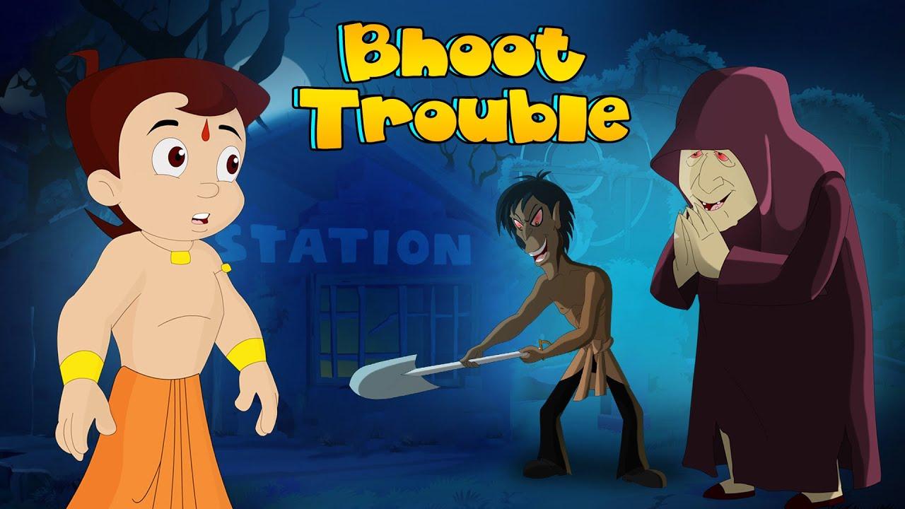 Chhota Bheem - Dholakpur Mein Bhoot Trouble   ढोलकपुर हुआ भुत से परेशन   Cartoon for Kids in Hindi