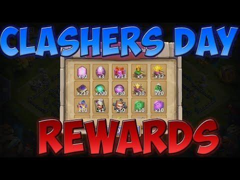 Castle Clash / Clashers Day / Insane F2P Events!
