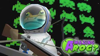 AMAZING FROG PLAYS SPACE INVADERS | The Amazing Frog Gameplay PART 17