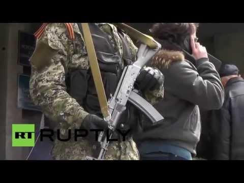 Ukraine: Slavyansk's self