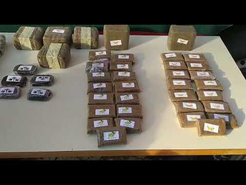 Detenido en Arcos de Jalón, en la A-2, con 50 Kg. de hachis y marihuana