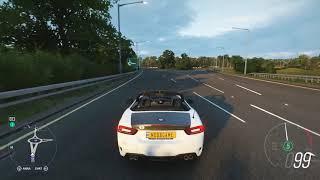 Forza Horizon 4 - Abarth 124 Spider TEST DRIVE 1080p HD
