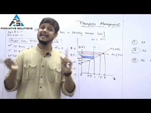 Concept of SML (CAPM) by Kunal Doshi, CFA