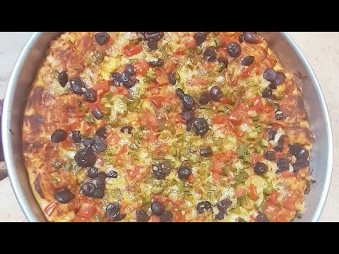 صورة  طريقة عمل البيتزا طريقه عمل البيتزا بالجبنه الرومي باسهل طريقه وسر نجاحها زي بيتزا المحلات طريقة عمل البيتزا من يوتيوب