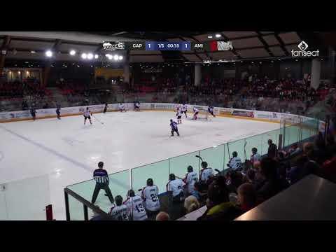 Résumé GAP - AMIENS // J4 SAXOPRINT Ligue Magnus 2017-2018