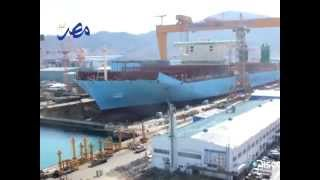Discovery Channel to broadcast Maersk Triple-E build