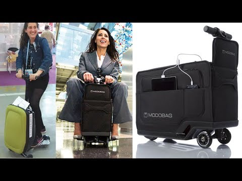 5 Best Luggages (robot Luggage, Scooter Suitcase,  Smart Suitcase) || Best Suitcase[part #02]
