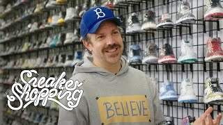 Jason Sudeikis Goes Sneaker Shopping With Complex
