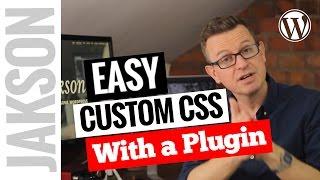 Add Custom CSS to Your WordPress Website Video