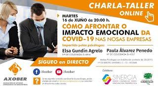 Sesión ONLINE  Como afrontar o impacto emocional da Covid 19 nas empresas
