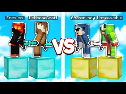 4 YOUTUBERS VS IMPOSSIBLE PARKOUR MAP CHALLENGE!