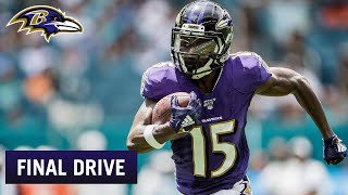 Greg Roman Is Another Believer in the Hollywood Brown Breakout | Ravens FInal Drive