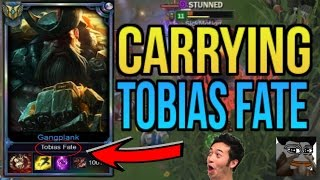 professor akali hard carries tobias fate ft toxic teemo   league of legends