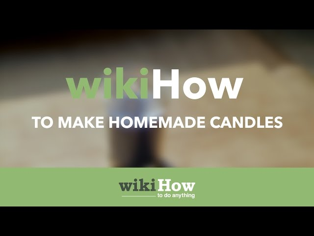 How to Make a Candle With Essential Oils (with Pictures
