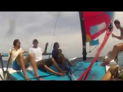Joining our sailing course on Ko Tao / Gulf of Thailand