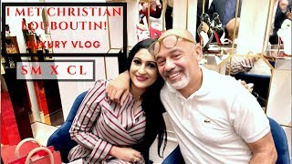 MEETING CHRISTIAN LOUBOUTIN  COME WITH ME | LONDON | LUXURY VLOG