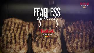 tefal optigrill fearless grilling