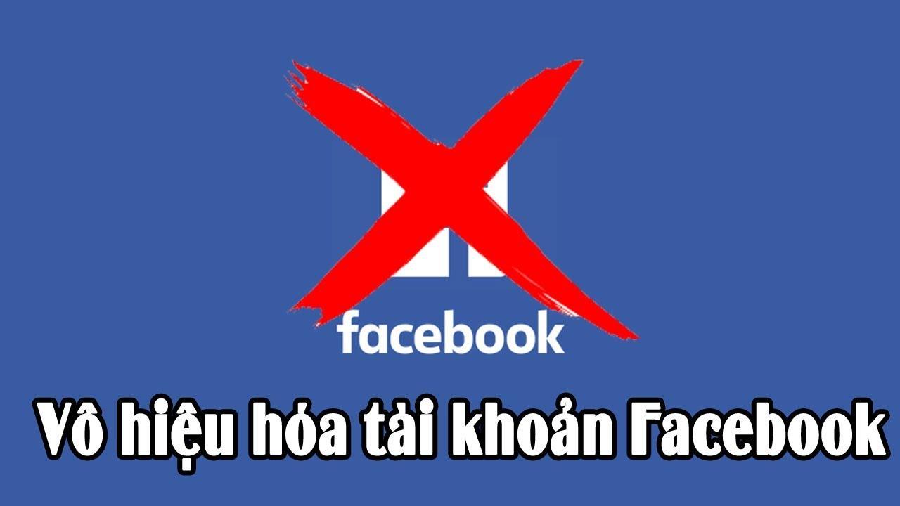 Vô hiệu hóa (khóa) tài khoản Facebook tạm thời trên điện thoại | Dong Vu