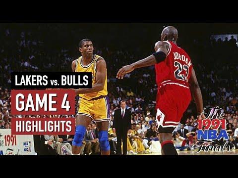 bulls lakers 1991