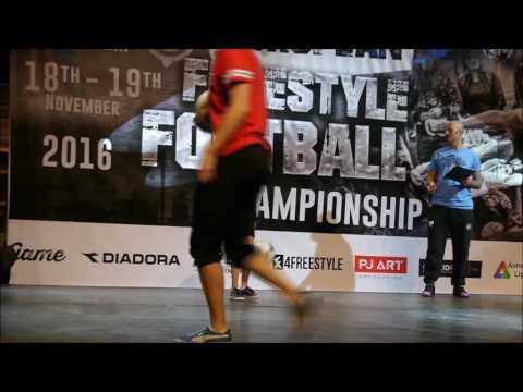 Jojje Lindgard - European Freestyle Football Championship Qualification Rounds