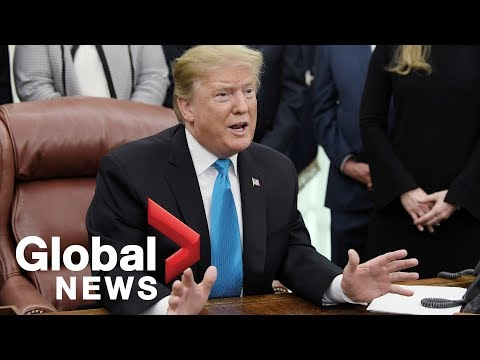 President Trump discusses release of Mueller report, North Korea summit