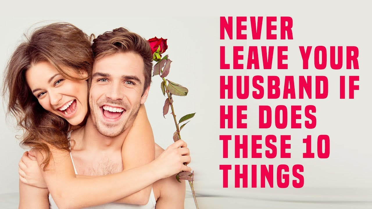 reasons to leave your husband