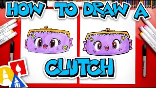 How To Draw A Cute Clutch Purse