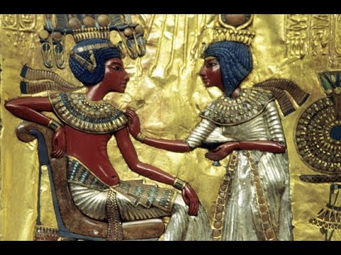 Egyptian History Whited Out  - Queen Nefertiti & King Tut