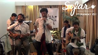 "Highway 61 performing ""Mukhtalif"" at Sofar Pune on January 27th, 20..."