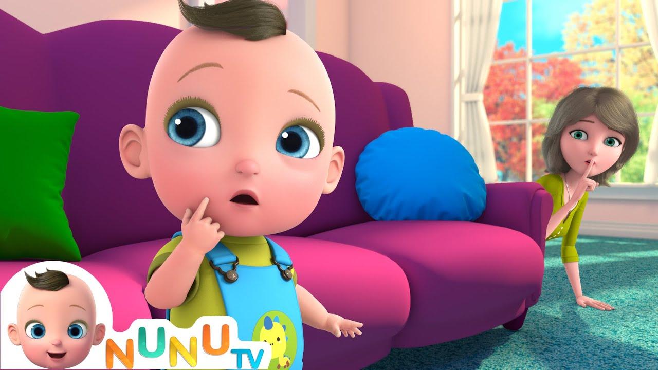 Peekaboo, I Found You + More Nursery Rhymes   Kids Songs   NuNu Tv